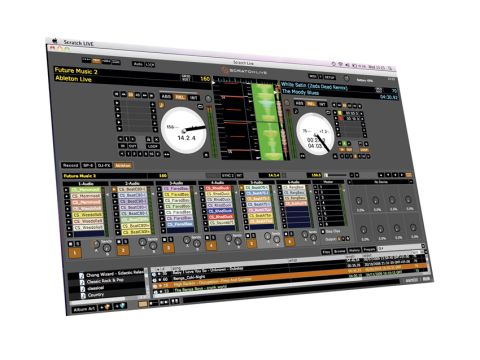 Get busy using Scratch Live to DJ Ableton sessions.