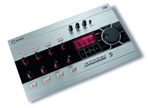 The touch-sensitive knobs offer precise control.