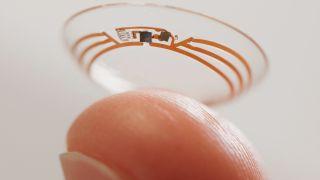 Google contact lense