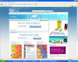 MSN Local offers tailored info for house buyers and private tenants alike