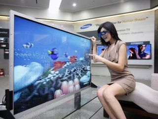 Samsung's new 55-inch 3D display