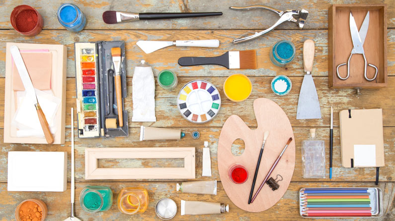 16 Essential Art Tools For Artists