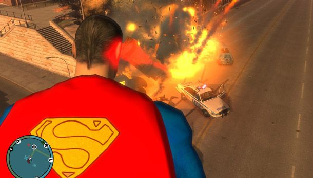Mod of the Week: Superman Script, for Grand Theft Auto IV