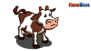 Farmville cow