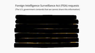 FISA gag Google government spying