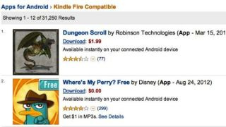 Amazon Appstore downloads are 500 up from an undisclosed number