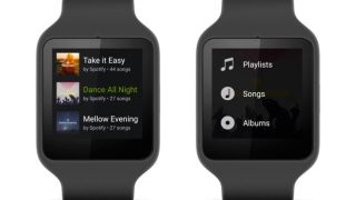 Spotify on Android Wear