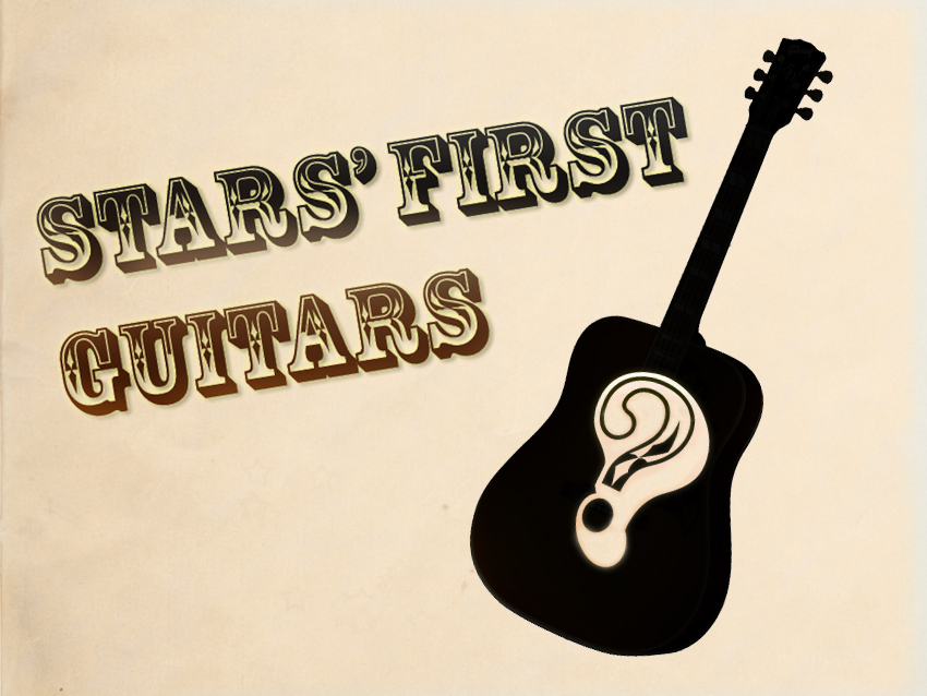 82 Famous Players On Their First Guitars