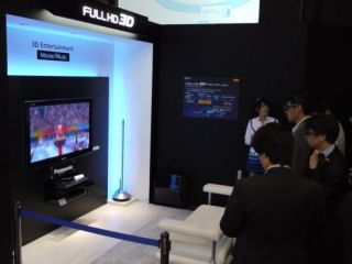 Panasonic's 50-inch Full HD 3D plasma was the talk of this year's CEATEC in Japan