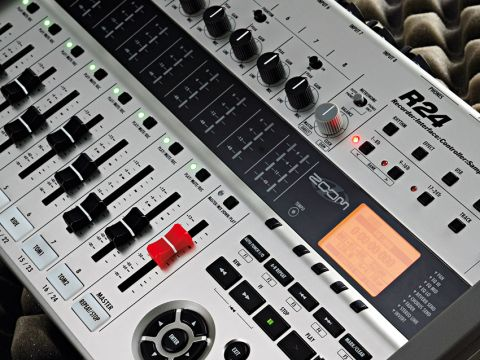 The unit also features an added sampler.