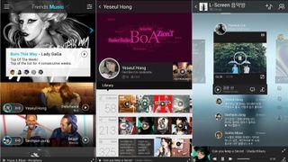 Samsung social music