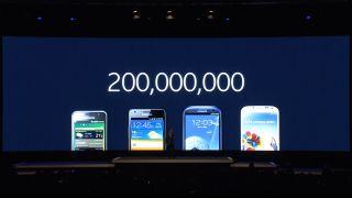 Samsung 200 million Galaxy