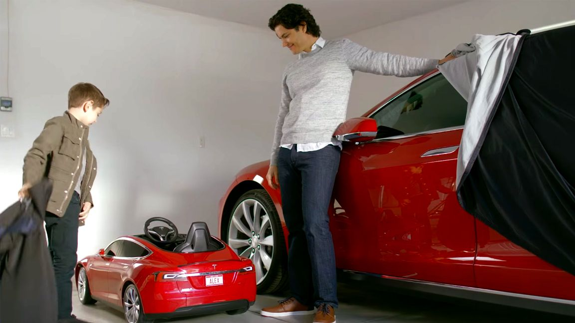 Tesla and Radio Flyer team up to make a Model S for kids