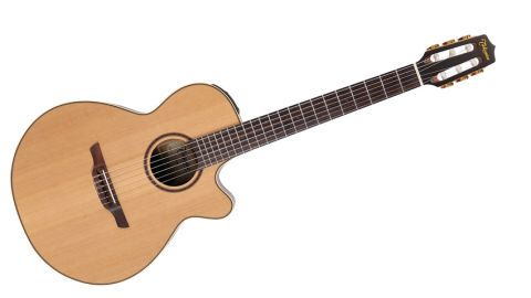 This cutaway FXC is a downsized version of Takamine's popular 'mini jumbo' cutaway NEX shape