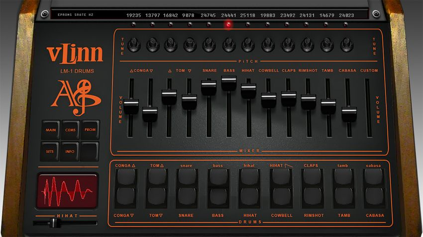 linn lm 1 drum machine emulated in vst plugin musicradar. Black Bedroom Furniture Sets. Home Design Ideas