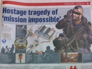 Sunday Times uses CoD image for real life story