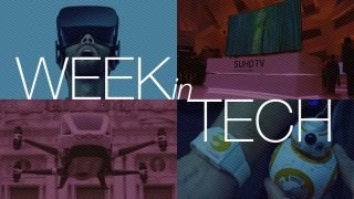 Week in Tech: Let's talk about CES (and puddles)