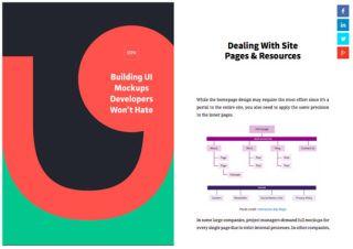 Free ebook on designing mockups