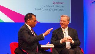 Google's chairman Eric Schmidt