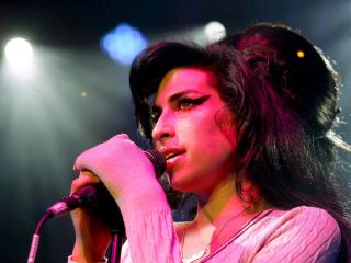 Amy Winehouse performing in 2007.