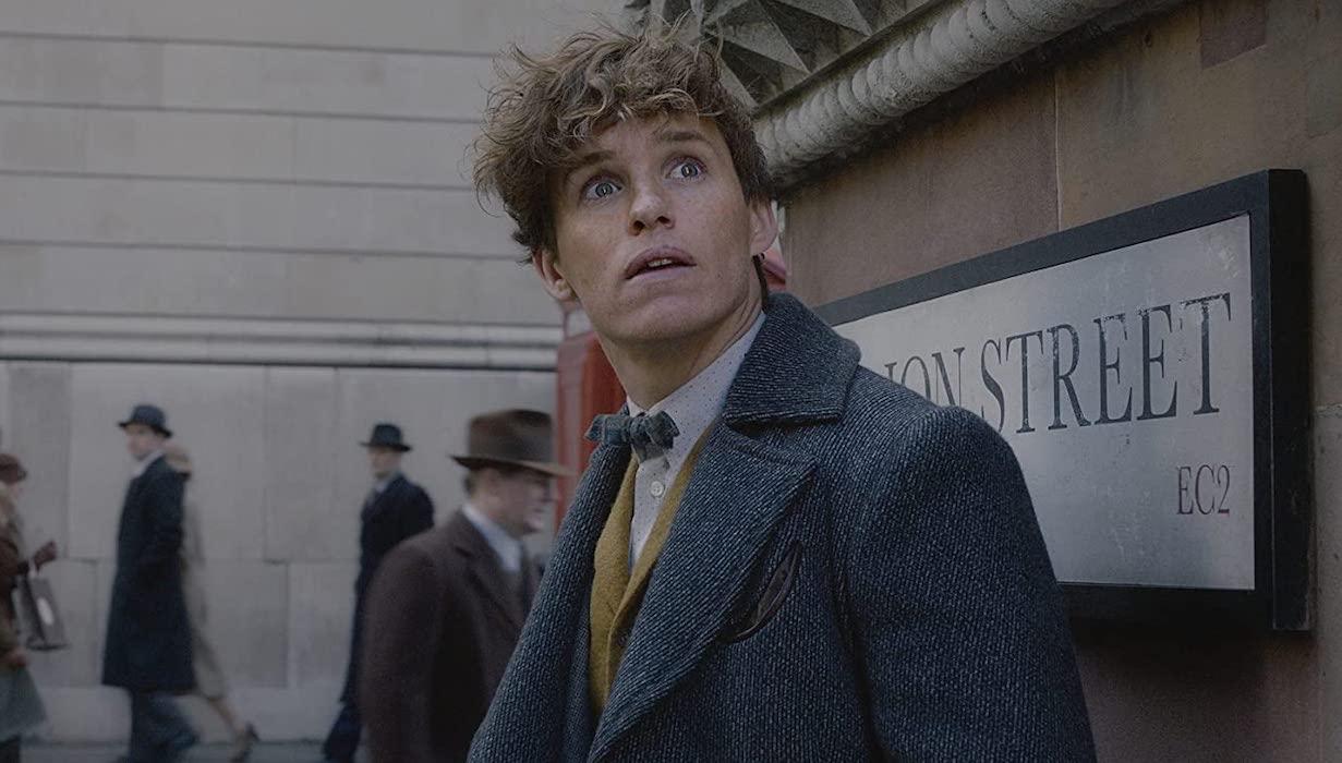 Eddie Redmayne as Newt Scamander in Fantastic Beasts