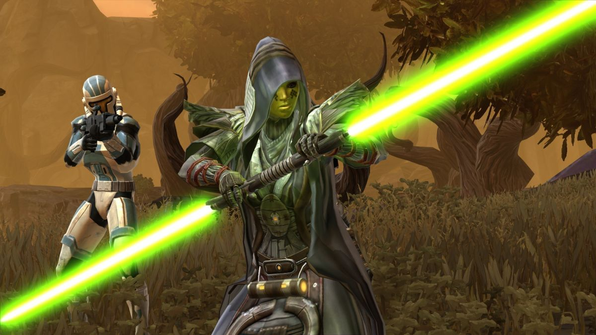 A Star Wars: Knights of the Old Republic sequel is reportedly in the works at EA