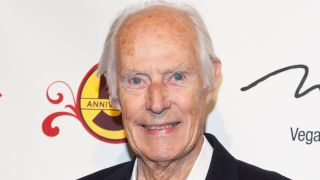 George Martin photographed in 2011.