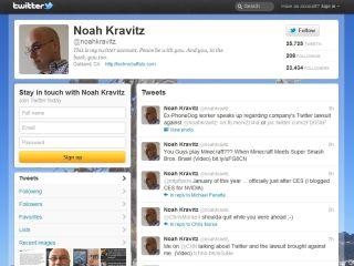Kravitz Twitter