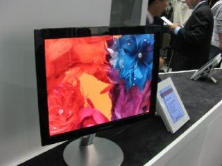 LG's 19in OLED screen