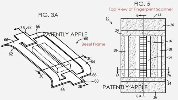 Apple's fingerprint scanner could be hidden in the bezel of an iPhone