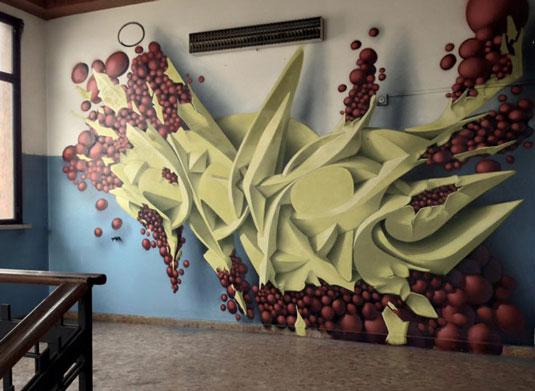 Street art: Peeta