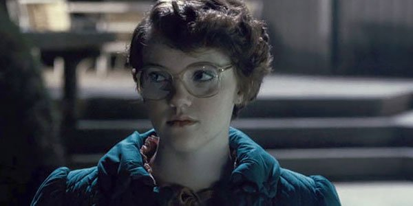 Barb at the pool in Season 1