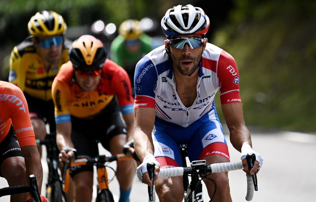 Thibaut Pinot was in the first attack