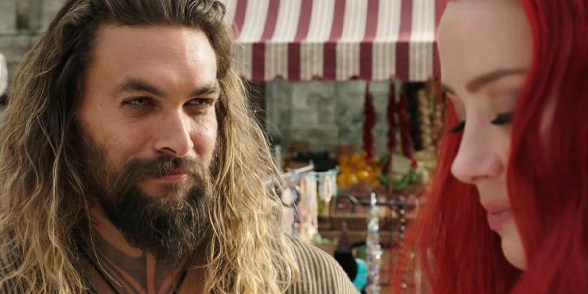 Jason Momoa, Amber Heard - Aquaman