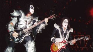 Gene Simmons and Ace Frehley in 1999