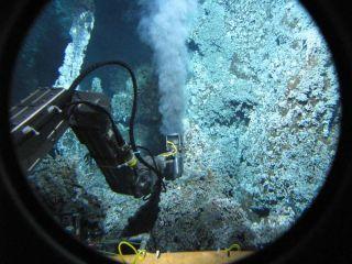 alvin deep sea vent