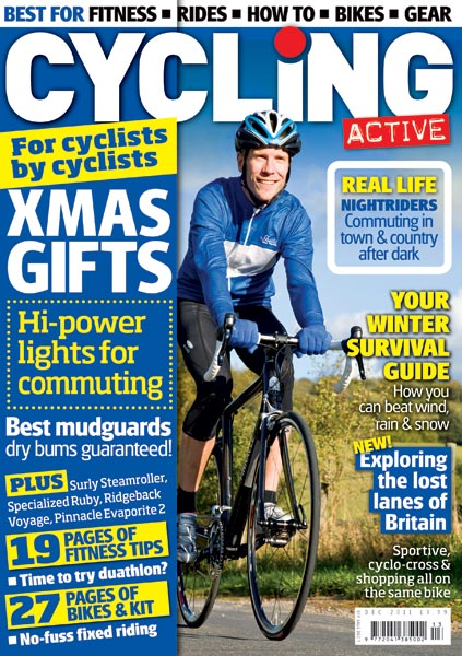 Cycling Active December 2011 issue