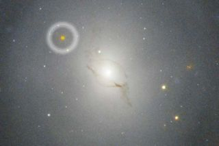 The Hubble Space Telescope was used to capture imagery of GW170817, the source of gravitational waves detected on Aug. 17, 2017.