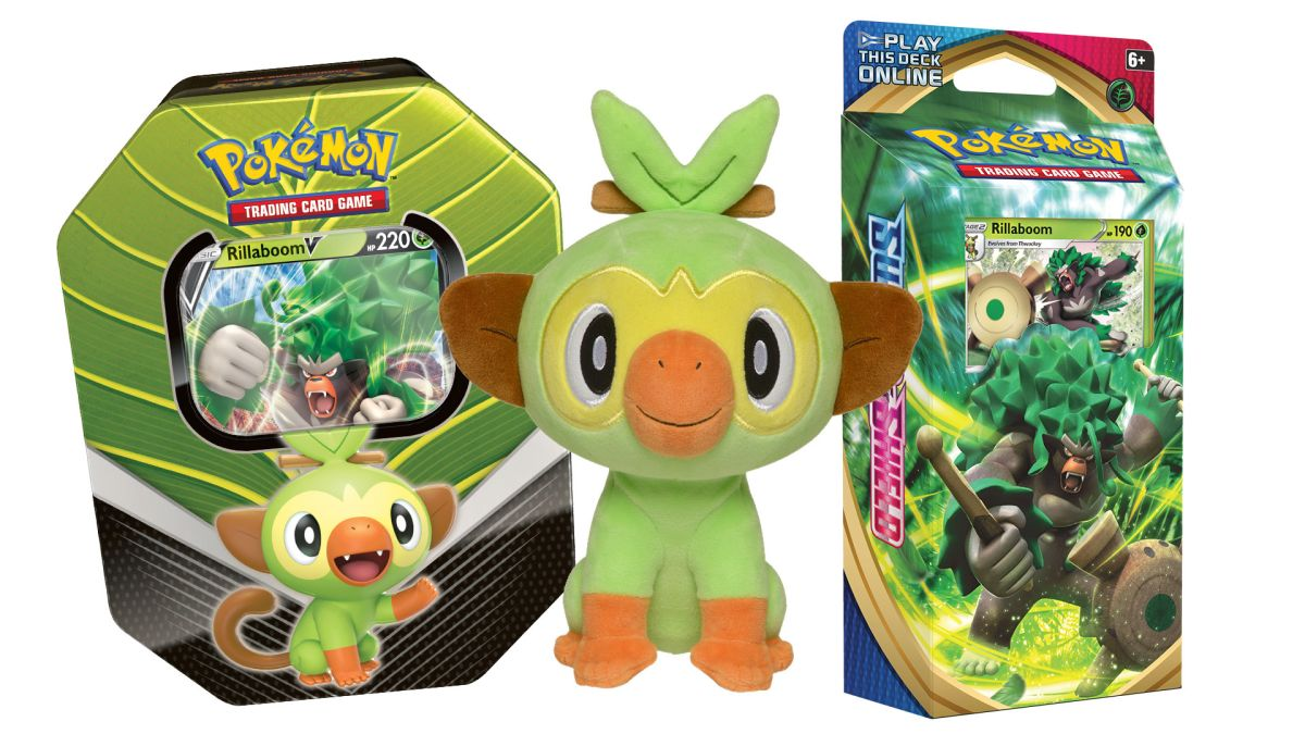 Win a Pokemon Sword and Shield Trading Card Game Galar Partners deck and more