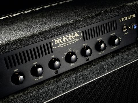 The master volume control includes a useful pull-mute ability