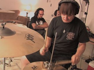Ray Luzier: cymbal minded during the sessions for The Path Of Totality