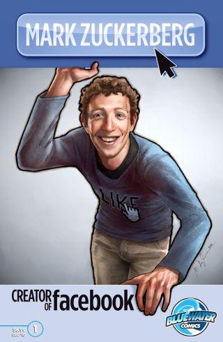 Zuckerberg gets his own comic book