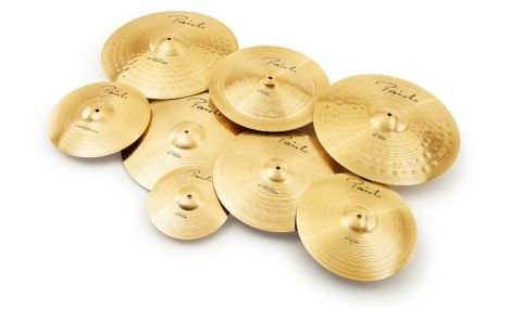 These Precision cymbals are cast from Paiste's proprietary Signature phosphor bronze