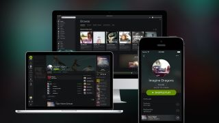 Spotify s new design goes to the dark side