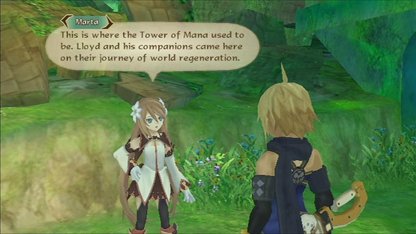 Tales Of Symphonia Dawn Of The New World Review Gamesradar