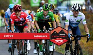 Richard Carapaz, Primoz Roglic and Enric Mas go head-to-head in the Vuelta a Espana