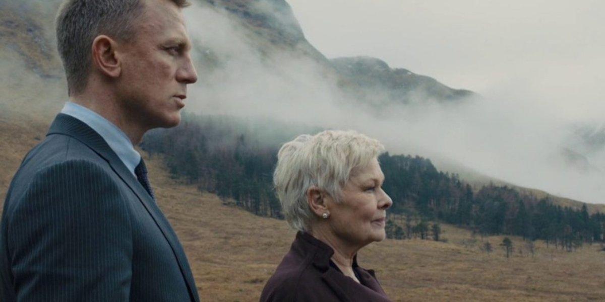 Daniel Craig and Judi Dench in Skyfall
