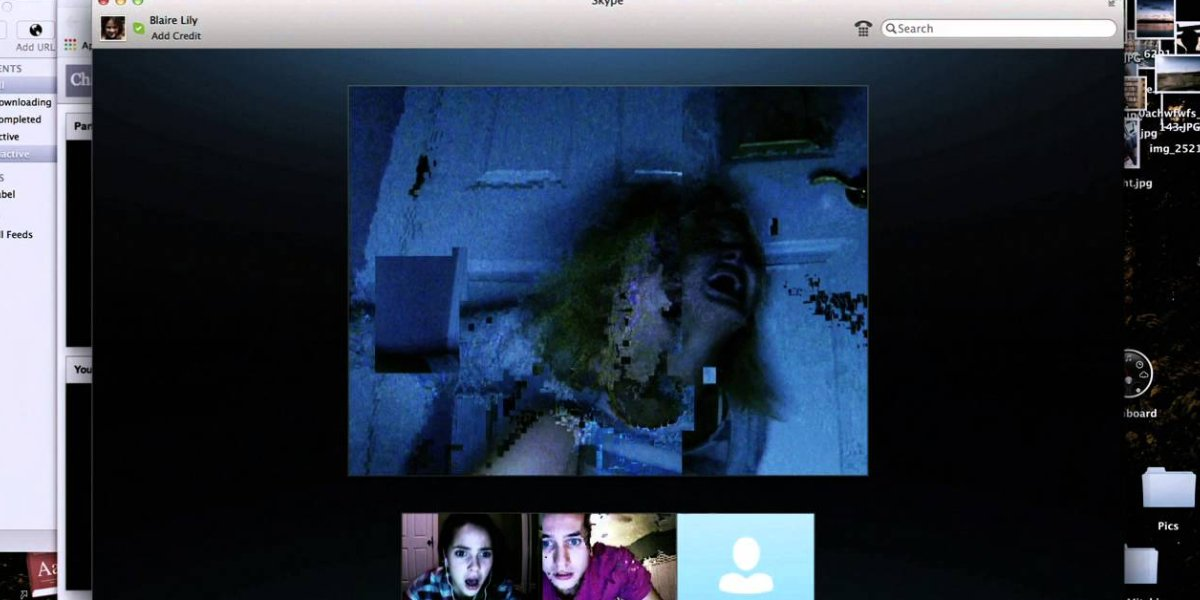 Renee Olstead, Shelley Hennig, and Moses Storm in Unfriended