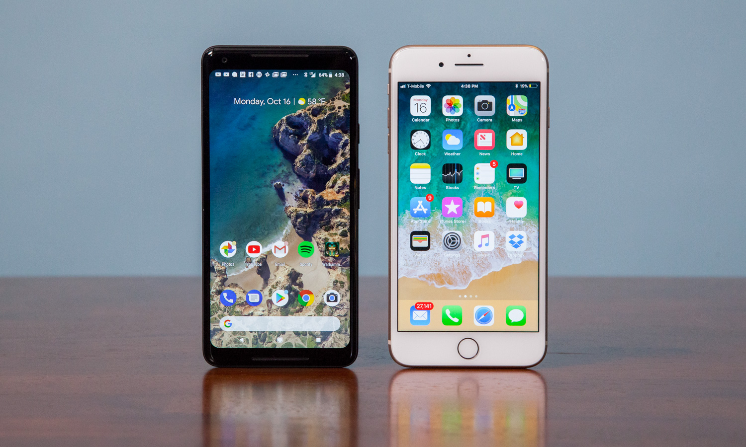 iPhone 8 vs  Pixel 2: Why Apple Beats Google (But Just
