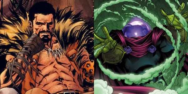 Kraven the Hunter and Mysterio, Spider-Man villains
